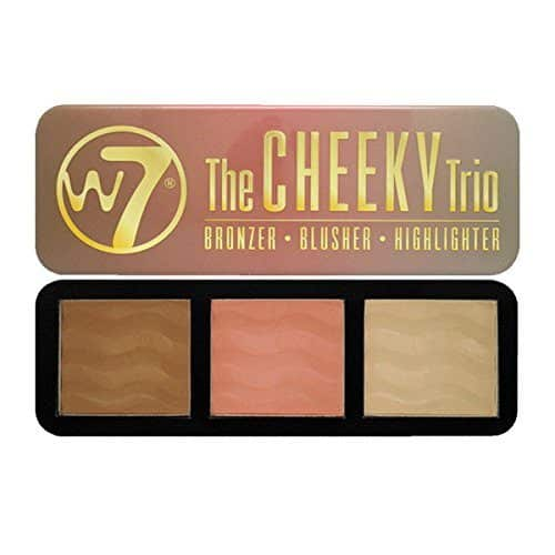 Best Bronzer for Pale Skin - The Cheeky Trio by w7