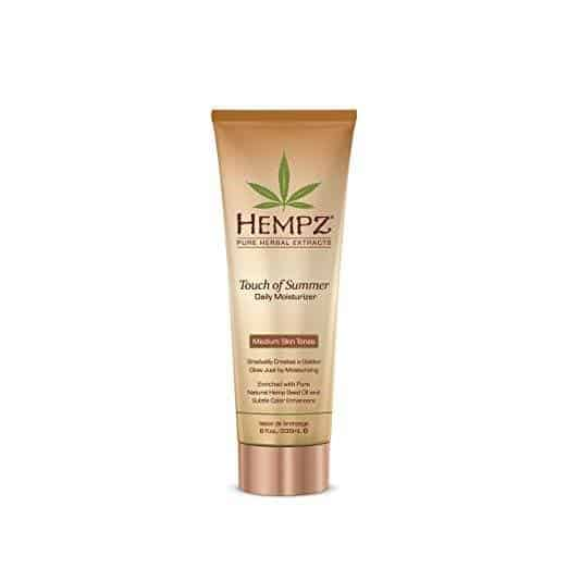 Best Bronzers for Every Skin Tone - Touch of Summer Daily Moisturizer by Hempz