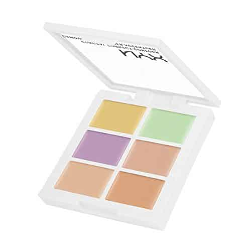 Best Color Correcting Concealer - Color Correcting Palette by NYX