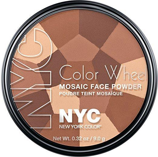 Best Drugstore Bronzer - NYC's Color Wheel Mosaic Face Powder