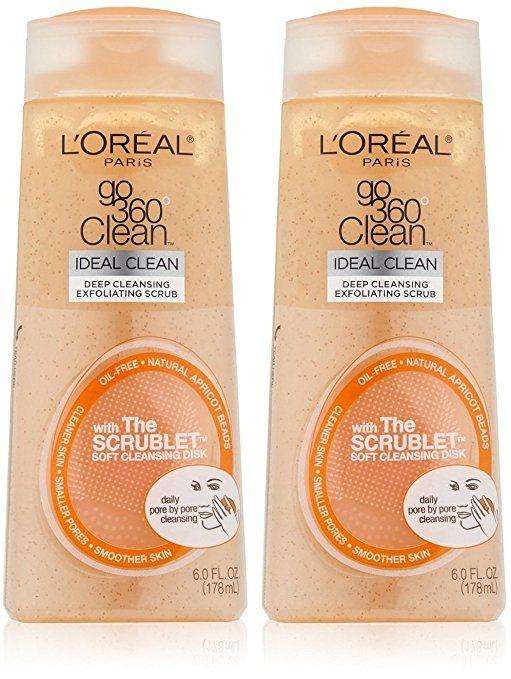 Best Blackhead Scrub -Go 360 Clean Deep Cleansing Exfoliating Scrub by L'Oreal