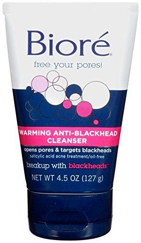 Warming Anti-Blackhead Cleanser by Biore
