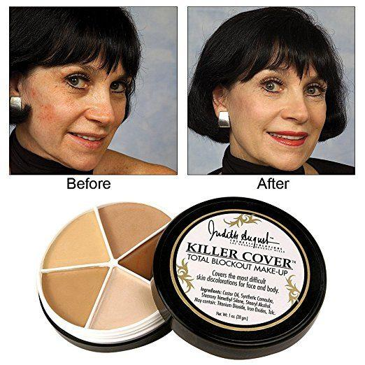 Best Concealer for Bruises - Killer Cover Total Blockout Make-Up by Judith August
