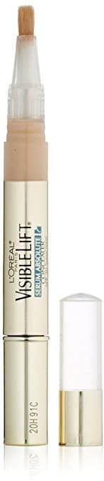 Best Concealer for Fine Lines and Wrinkles - Visible Lift Serum Absolute Concealer by L'Oreal