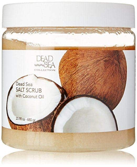 Best Sea Salt Scrub -Dead Sea Salt Scrub with Coconut Oil by Dead Sea Collection