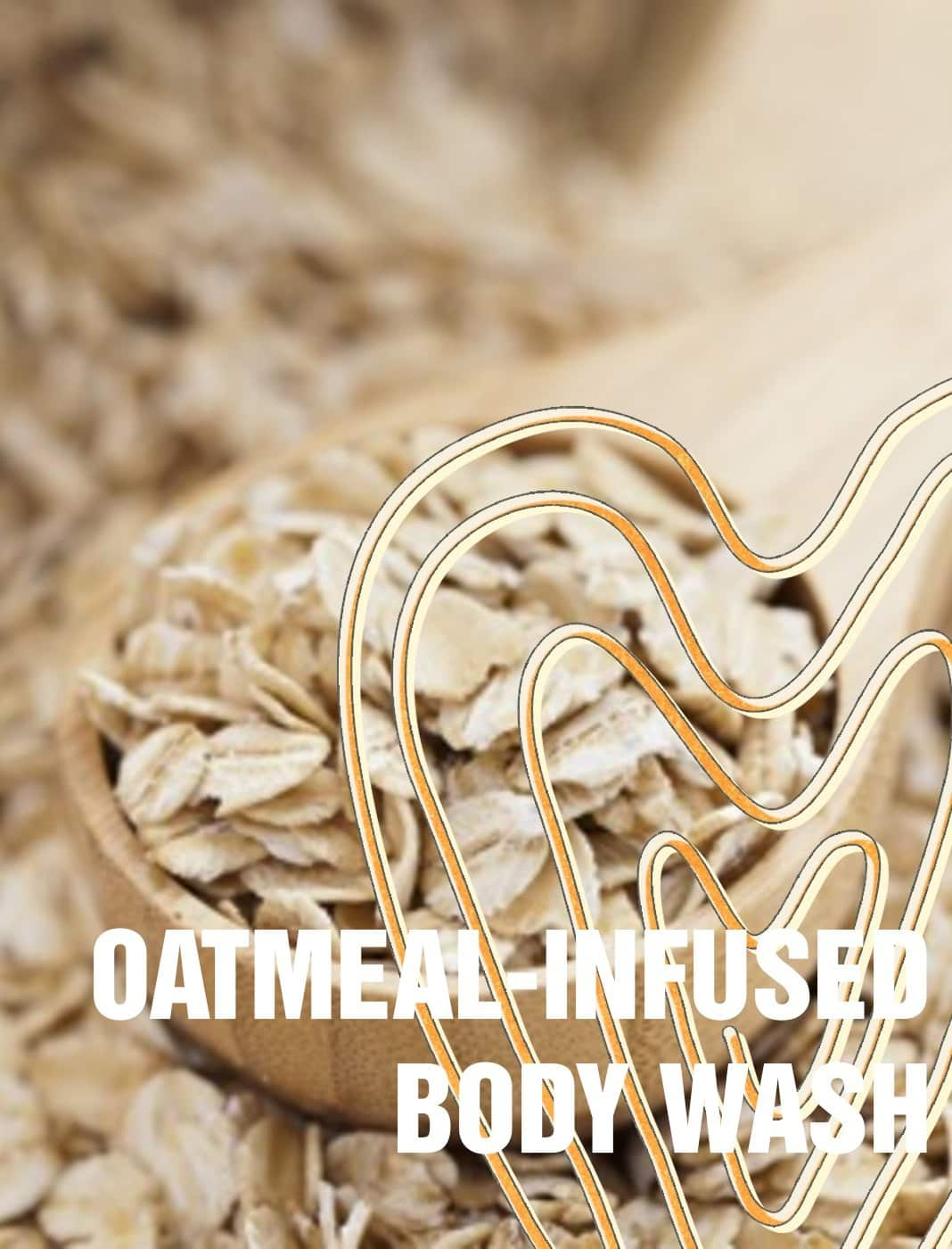 Oatmeal-Infused Body Wash