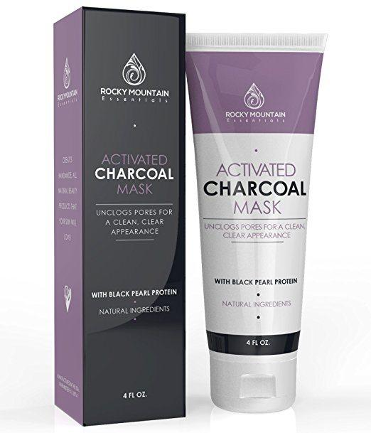 Create Your Own Active Charcoal Skin Purifying Face Mask: Best Face Masks For Blackheads