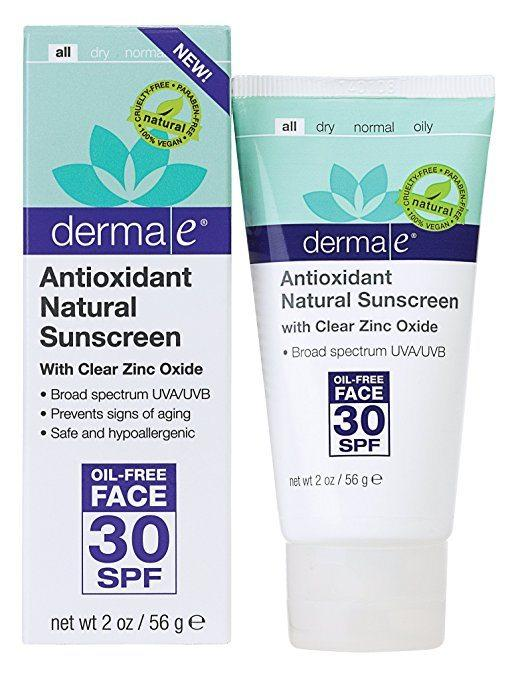 Derma E Antioxidant Natural Sunscreen SPF 30
