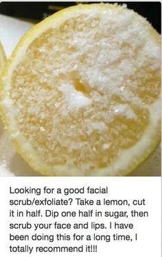 Can't get enough of lemons? Here are more lemon recipes you can use to solve your skin issues.