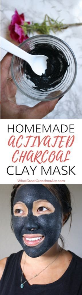 This face mask is really effective because it makes use of activated charcoal and bentonite clay. Its antibacterial property is increased with the addition of apple cider vinegar.