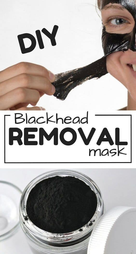 This diy charcoal face mask peel off uses two simple ingredients. All you'll need are school glue and activated charcoal, with a few drops of essential oil if you prefer.