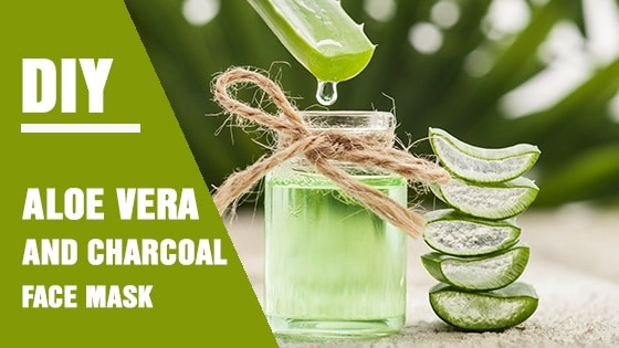 When it comes to skin care, aloe vera and charcoal are two things you shouldn't overlook. This DIY face mask is one good example why.