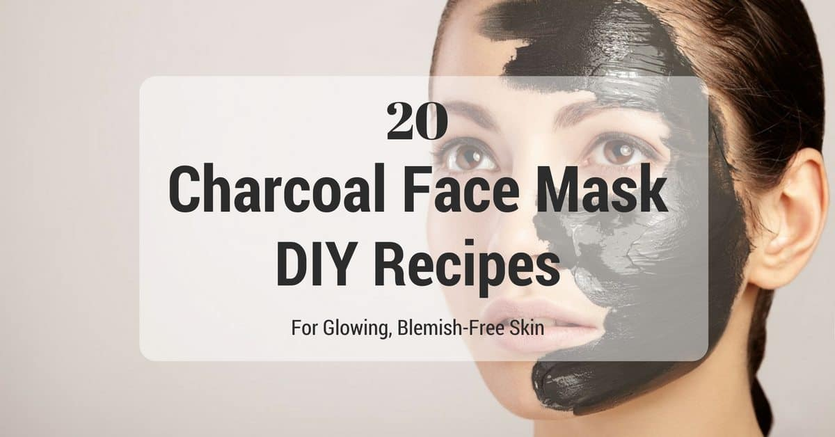 20 DIY Charcoal Face Masks You Should Totally Try Today