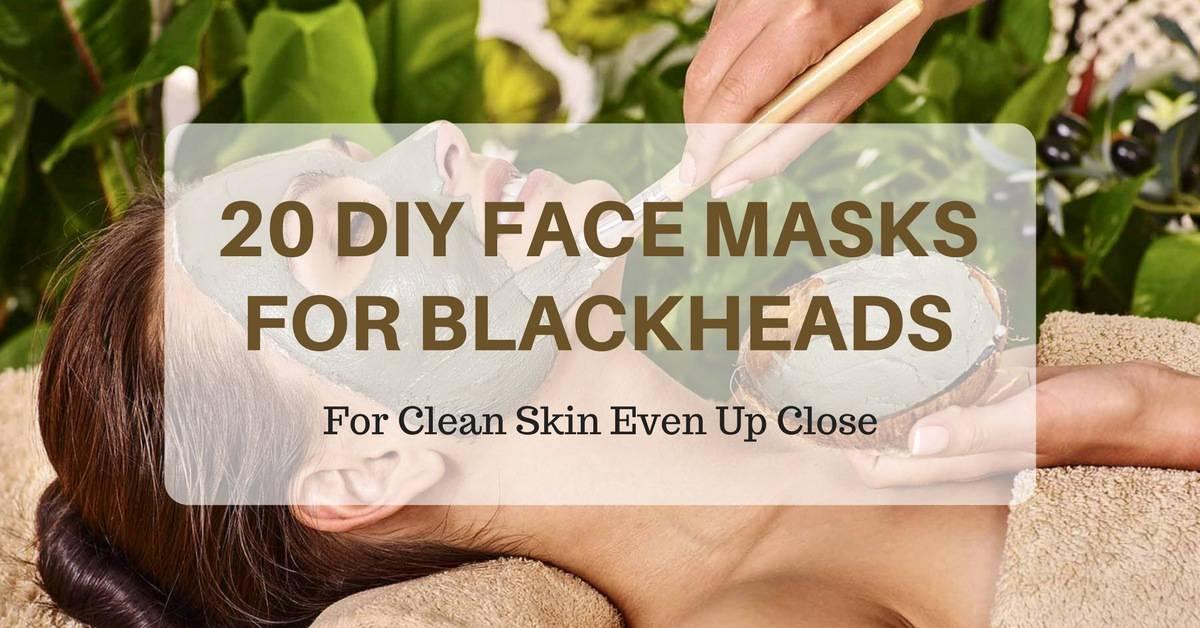 20 DIY Face Masks for Blackheads That Work Like Magic