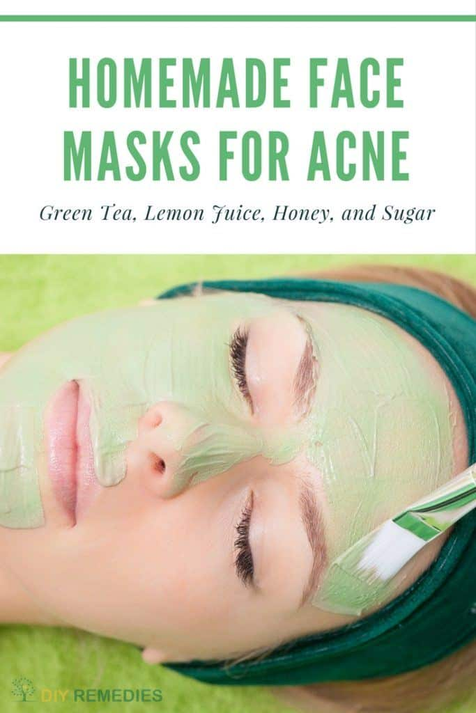 Wake up looking prettier and glowing with this DIY face mask for acne. The combination of green tea and honey can provide your skin with the antioxidants it needs to stay young-looking.