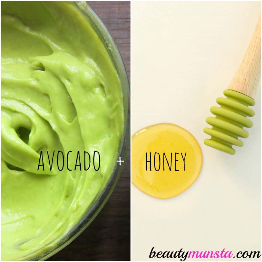Show your skin some love with this DIY face mask made with honey and avocado. It won't just treat your acne but it can boost your skin's overall health, too.