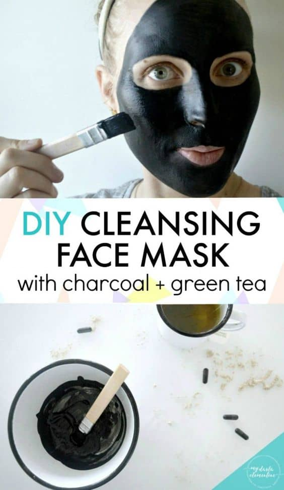 This is another rinse-off mask that I think is a bit complicated. It makes use of 5 ingredients, namely activated charcoal, kaolin clay, glycerin, brewed green tea, and peppermint oil.