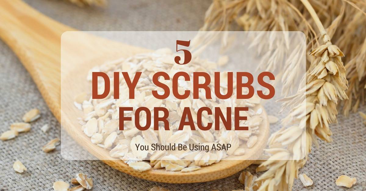 5 DIY Scrubs For Acne You Should Be Using ASAP