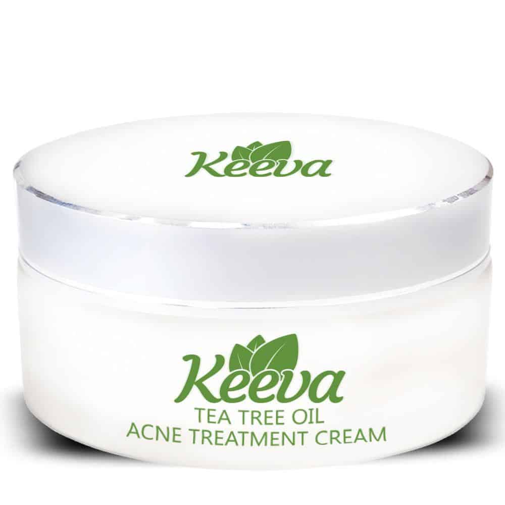 Keeva Tea Tree Oil for Acne Treatment Cream 6