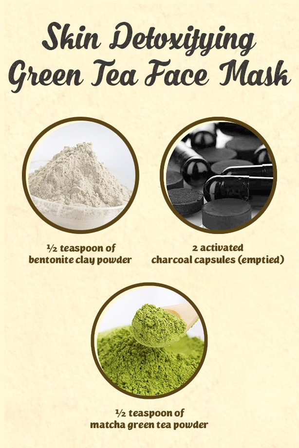 Beat stress and your skin breakouts with this 3-ingredient face mask for acne. All it needs is some activated charcoal, matcha green tea and bentonite clay and you're good to go!