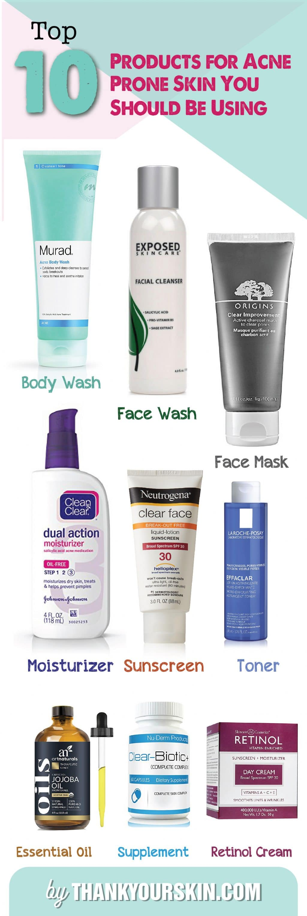 Top 10 Products for Acne-01