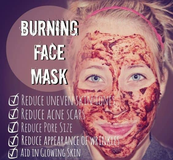 If you're up for some challenge, then this DIY face mask for pores is for you. It contains nutmeg and cinnamon that'll really create a burning sensation. The result? It's all going to be worth it.