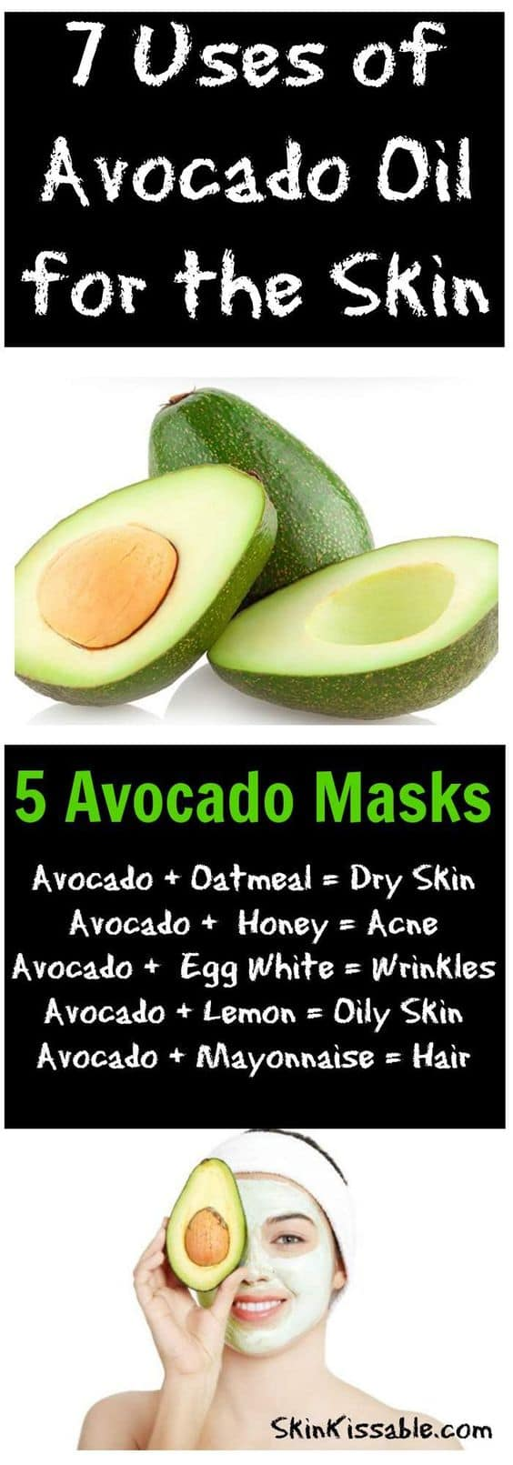 We've been told that fruits and vegetables are good for us and this DIY face mask for wrinkles is a great example why. Its main ingredients? Yummy avocado and the crunchy carrot!