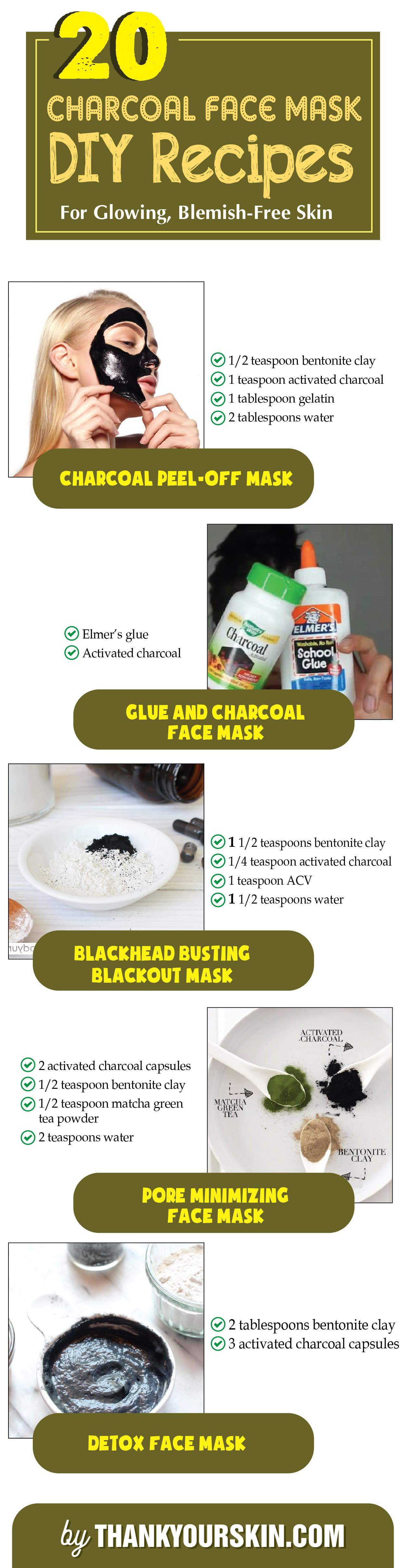 DIY Charcoal Face Mask