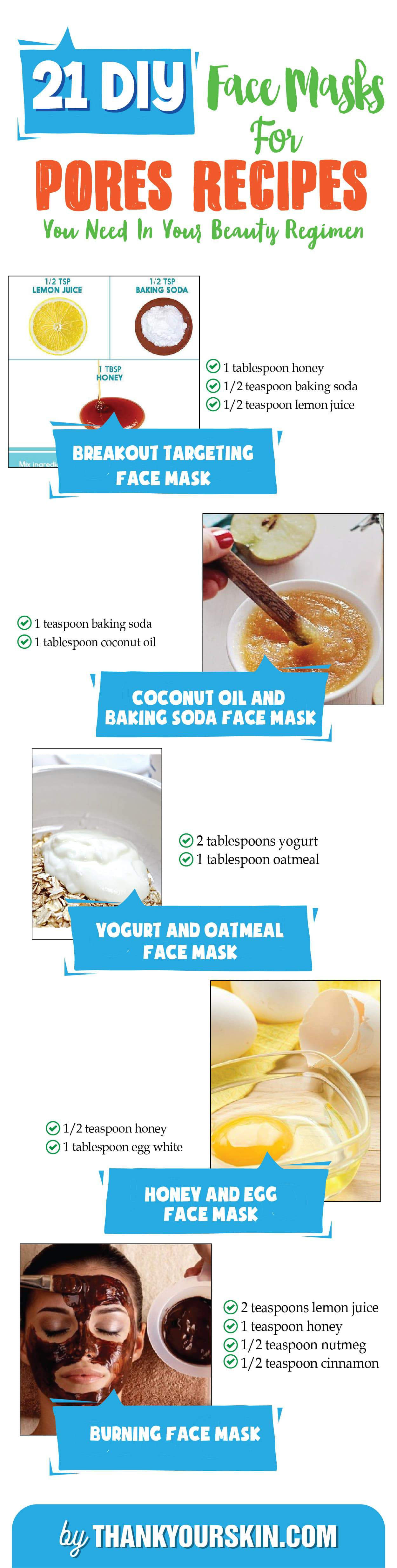 DIY Face Mask for Pores