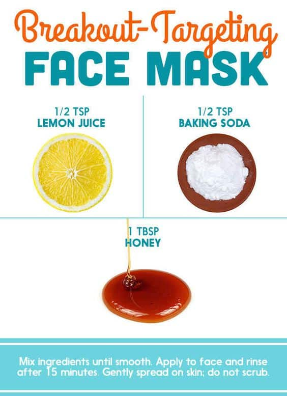This DIY face mask for pores can be used to treat or prevent acne. All it takes is some lemon juice, honey and baking soda, and clogged pores will be the last thing you'll have to worry about.
