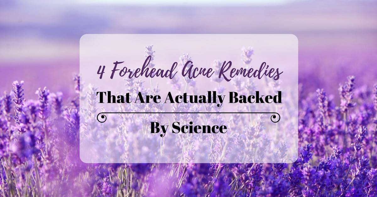 4 Forehead Acne Remedies That Are Actually Backed By Science