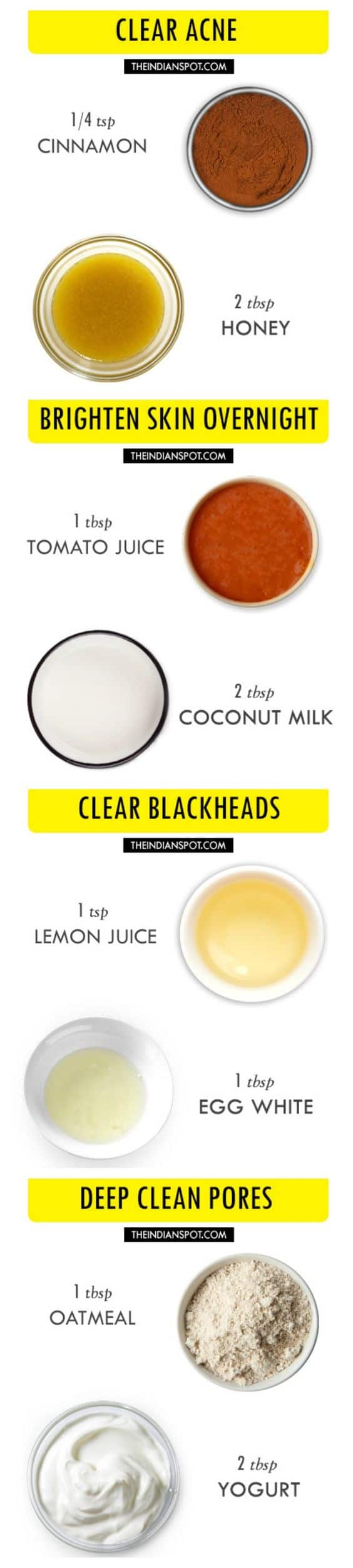 21 diy pore-shrinking face masks you need in your beauty regimen