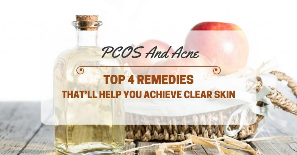 how to clear up pcos acne