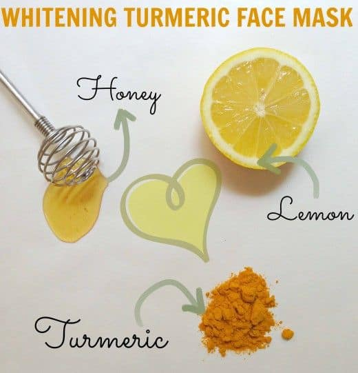 If you're dealing with a dull, uneven complexion, this DIY turmeric face mask is especially for you. It combines milk, honey and turmeric- three of the most powerful skin lighteners.