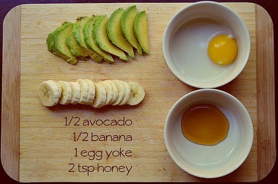 For a creamy mask that not only tastes good but feels good, this DIY hydrating face mask is a must-try. It uses bananas, avocados, honey, and egg to bring back your skin's health in no time.