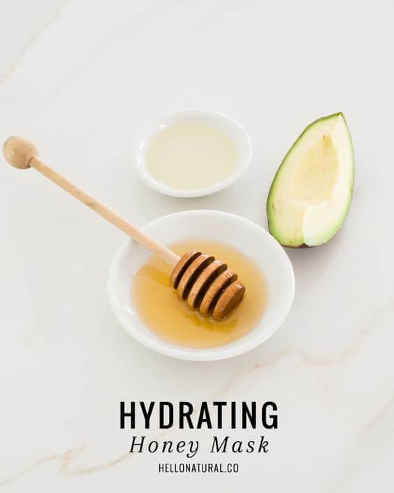 Try this DIY hydrating face mask to put an end to dry skin fast. It makes use of avocado, honey, and coconut oil to fix dehydrated skin and bring back its softness and suppleness.