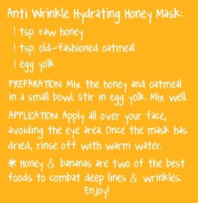 This DIY hydrating face mask is perfect for those who want to get the most from their skin care. It has honey, oatmeal, and egg yolk to give you healthy skin without those expensive facials.