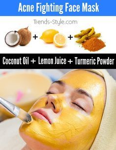 This recipe is for you if you want a DIY turmeric face mask that fights acne yet is easy to make. Turmeric, coconut oil and lemon juice are its ingredients to provide you your clearest skin ever.