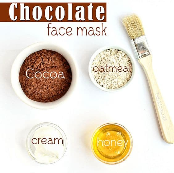 This DIY hydrating face mask is perfect if you're a self-confessed chocolate addict. It has cocoa, oatmeal, cream, and honey, so make sure it ends up on your face and not in your mouth.